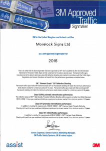 3M Approved Signmaker 2016