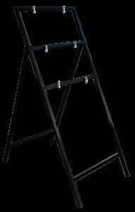 Autophoretic qick-fit frame